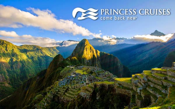 Princess South America cruise tours from $5,729*