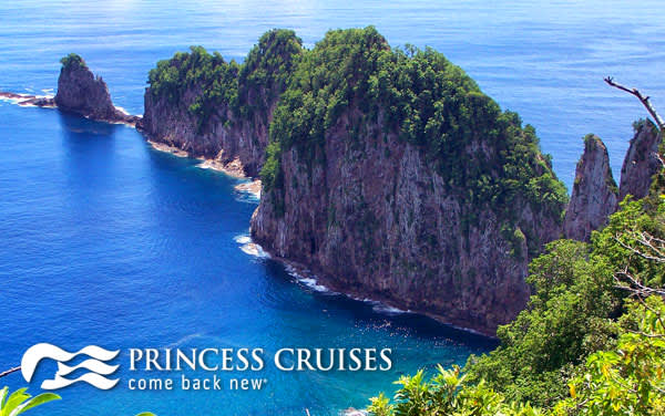 Princess South Pacific & Tahiti cruises from $602*