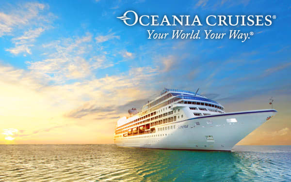 Oceania World cruises from $2,449*