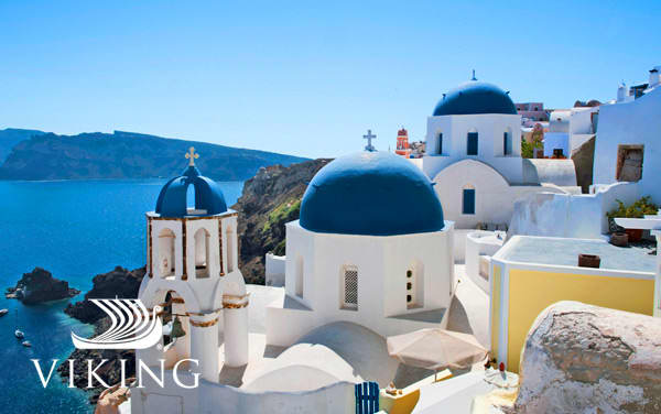 Viking Ocean Mediterranean cruises from $2,499*