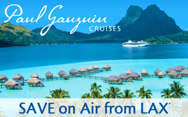Paul Gauguin: Save on Airfare from LAX or SFO*