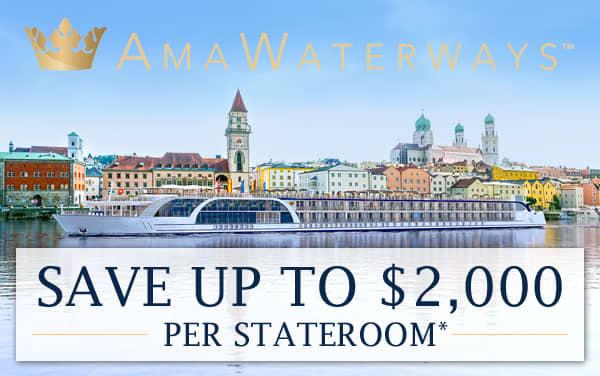 AmaWaterways: up to $2,000 Savings for Europe*