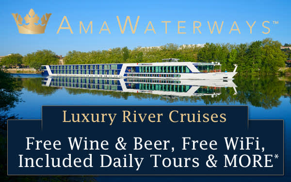 AmaWaterways Luxury River Cruises from $1,838*