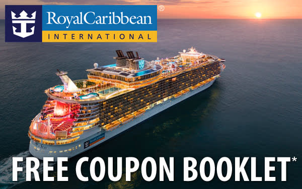 Royal Caribbean: FREE 2020 Onboard Coupon Booklet*