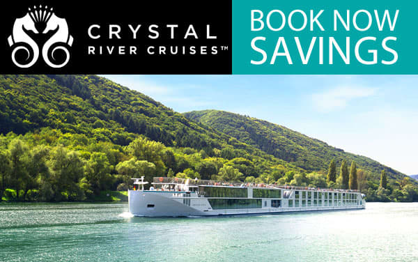 Crystal River Cruises: Book Now Savings*