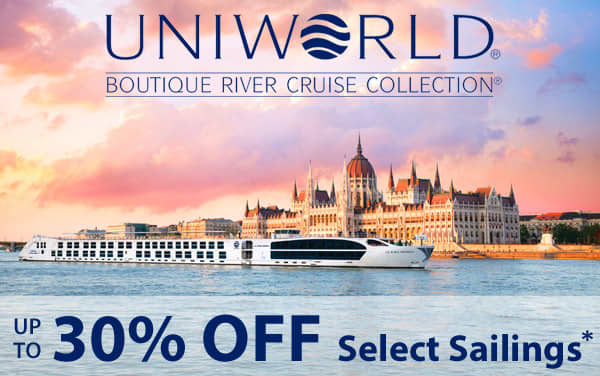 Up to 30% Off Uniworld River Cruises*