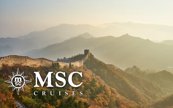 MSC Cruises China cruises from $829*
