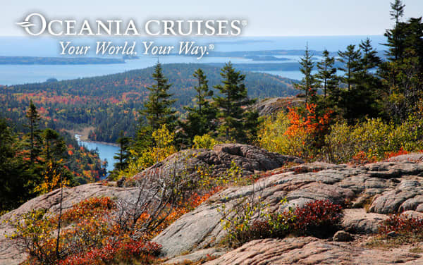 Oceania Cruises Canada/New England cruises from $2,549*