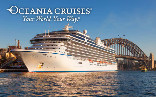 Oceania Cruises Transpacific cruises from $2,499*