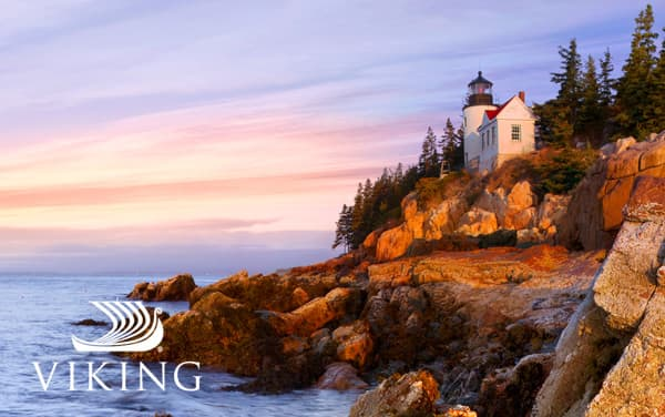 Viking Ocean Canada/New England cruises from $5,999*