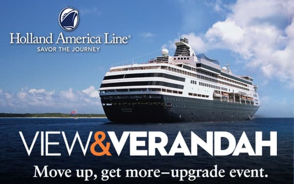 Holland America Sale: Up to $500 OBC and More*