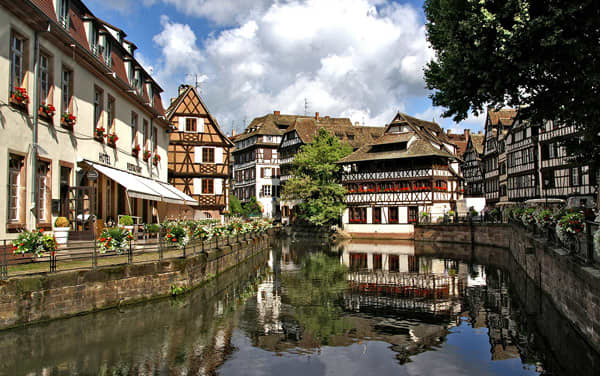 Uniworld River Cruises-Strasbourg, Alsace, France