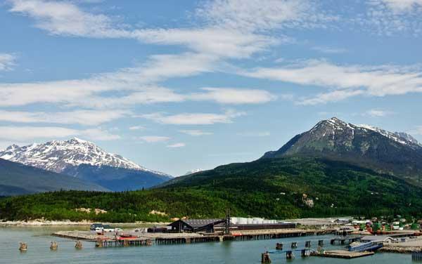 Holland America Line-Skagway, Alaska
