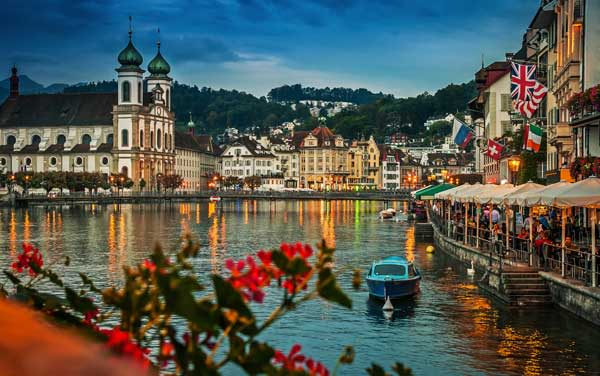 Avalon Waterways River Cruises-Lucerne, Switzerland
