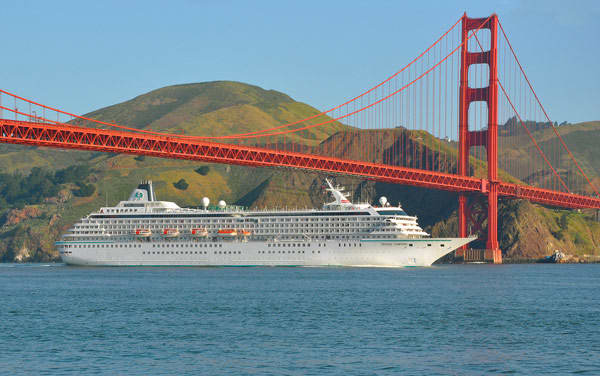 Crystal Serenity U. S. Pacific Coast Cruise Destination