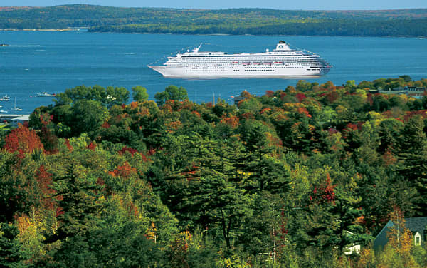Crystal Serenity Canada / New England Cruise Destination