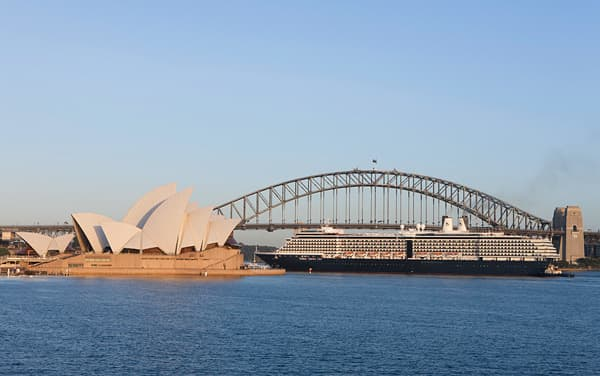 Oosterdam Australia/New Zealand Cruise Destination
