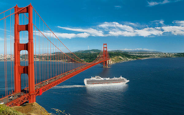 Emerald Princess U. S. Pacific Coast Cruise Destination