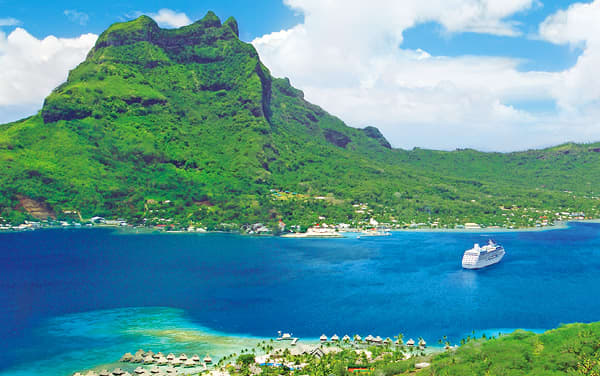Ruby Princess South Pacific / Tahiti Cruise Destination