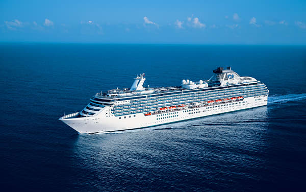 Pacific Princess Transatlantic Cruise Destination