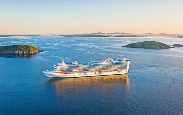 Regal Princess Canada / New England Cruise Destination