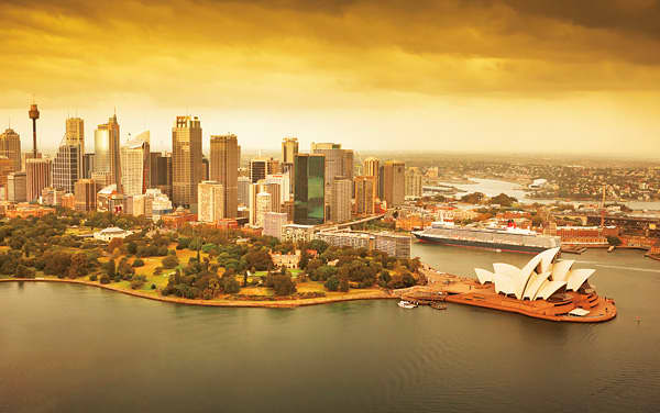 Queen Elizabeth Australia/New Zealand Cruise Destination