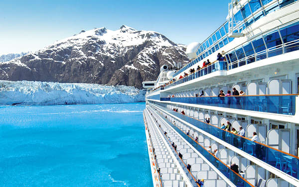 Golden Princess Alaska Cruise Destination
