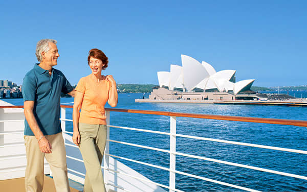 Pacific Princess Australia/New Zealand Cruise Destination