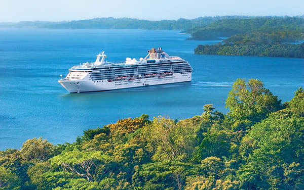 Island Princess Panama Canal Cruise Destination