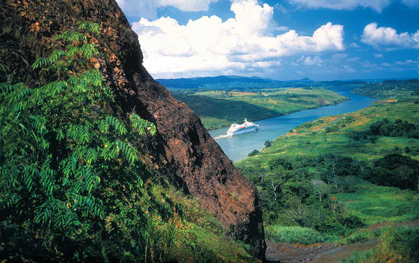 Seabourn Quest Panama Canal Cruise Destination
