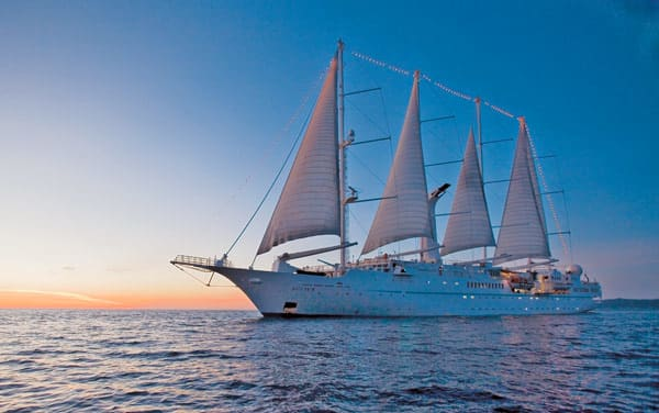 Wind Surf Transatlantic Cruise Destination