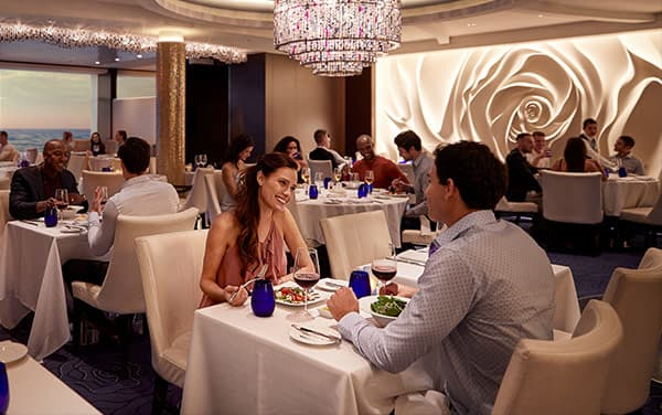 Celebrity Solstice Dining Vendor Experience