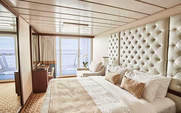 Ruby Princess Staterooms Vendor Experience