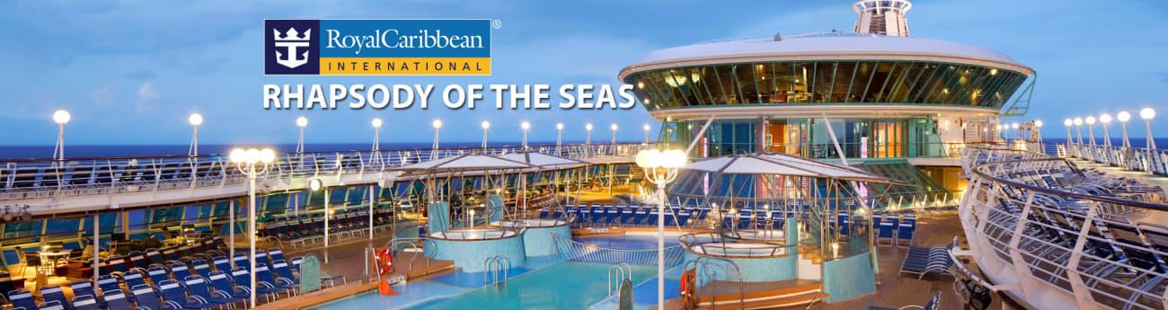 Royal Caribbean S Rhapsody Of The Seas Cruise Ship 2021 2022 And 2023 Rhapsody Of The Seas Destinations Deals The Cruise Web