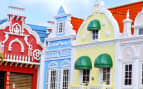 Center Square in Oranjestad Aruba Caribbean