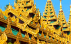 Shwedagon Paya in Yangoon, Myanmar Crystal Cruises