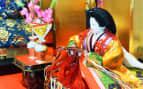 Japanese geisha figurine