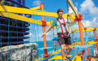 Norwegian Cruise Line Breakaway ropes course