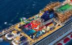 Norwegian Getaway aerial Norwegian Cruise Line