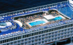Norwegian Cruise Line Sun public pool deck