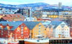 Tromso Cityscape Norway Seabourn Northern Europe