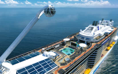 Royal Caribbean S Anthem Of The Seas Cruise Ship 2020 2021 And