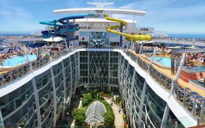 Royal Caribbean S Symphony Of The Seas Cruise Ship 2021 2022 And 2023 Symphony Of The Seas Destinations Deals The Cruise Web