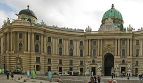 Hofburg Imperial Palace in Vienna