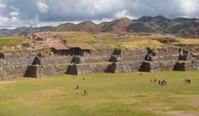 Sacsayhuaman Ruins in Cusco, Peru