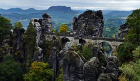 Sandstone Rocks of Saxon Switzerland