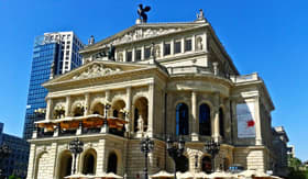 Old Opera in Frankfurt, Germany