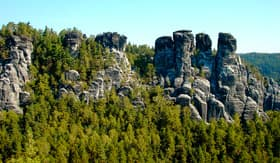 Saxon Switzerland Rock Formations