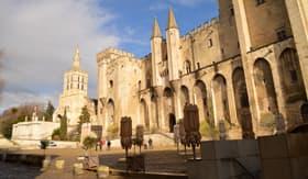 Castle in Avignon, France