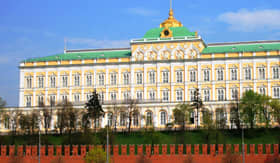 Kremlin Palace in Moscow, Russia